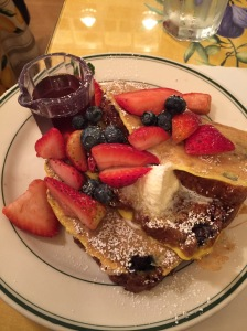 Lemon Blueberry French Toast with Berries